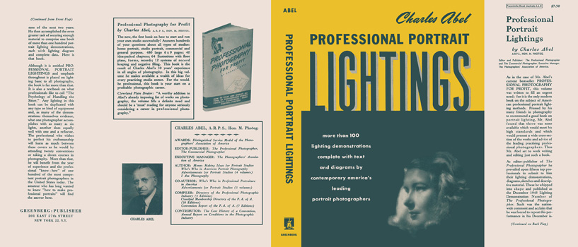 Professional Portrait Lightings. Charles Abel.