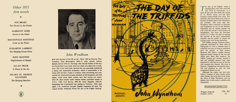 Day of the Triffids, The. John Wyndham