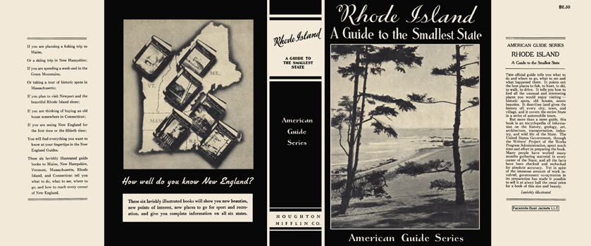 Rhode Island, A Guide to the Smallest State. American Guide Series, WPA.
