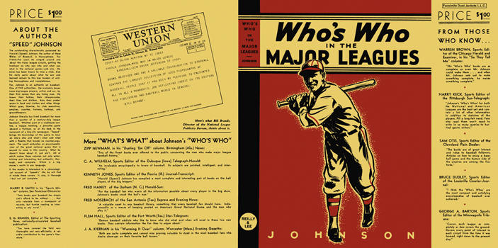 "Who's Who in the Major Leagues. Harold ""Speed"" Johnson"