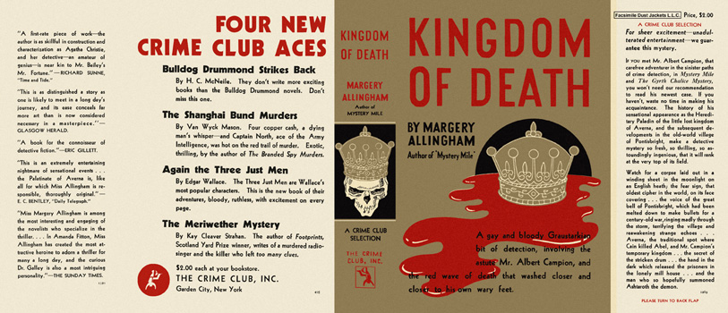 Kingdom of Death. Margery Allingham