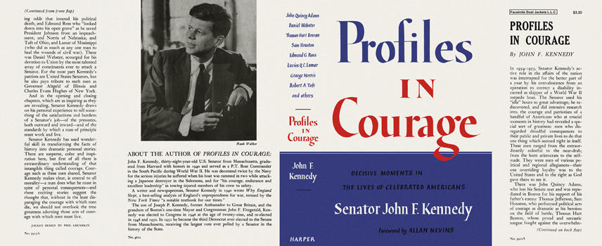 Profiles in Courage. John F. Kennedy, Senator