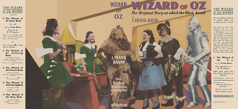 Wizard of Oz. L. Frank Baum.