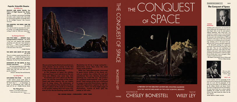 Conquest of Space, The. Chesley Bonestell, Willy Ley