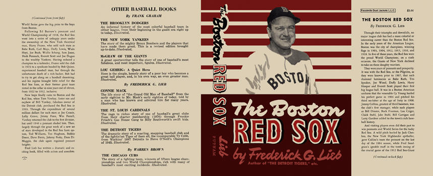 Boston Red Sox, The. Frederick G. Lieb.
