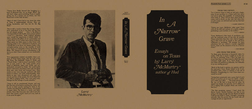 In a Narrow Grave: Essays on Texas. Larry McMurtry