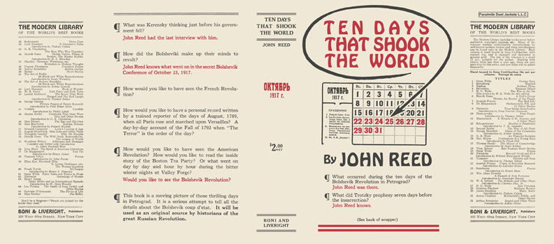 Ten Days That Shook the World. John Reed