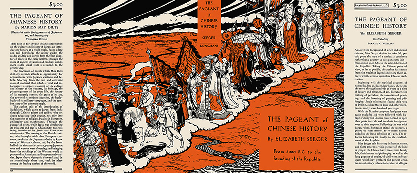 Pageant of Chinese History, The. Elizabeth Seeger, Bernard C. Watkins.