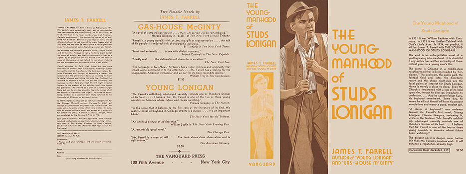 Young Manhood of Studs Lonigan, The. James T. Farrell