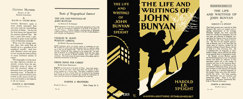 Life and Writings of John Bunyan, The. Harold E. B. Speight.
