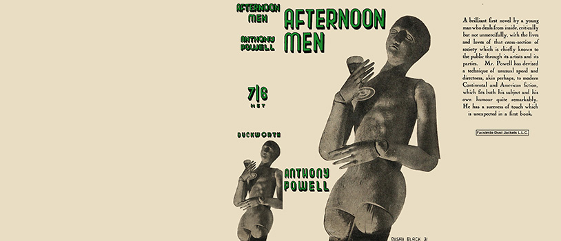 Afternoon Men. Anthony Powell.