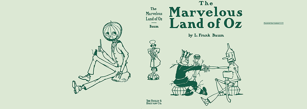 Marvelous Land of Oz, The. L. Frank Baum