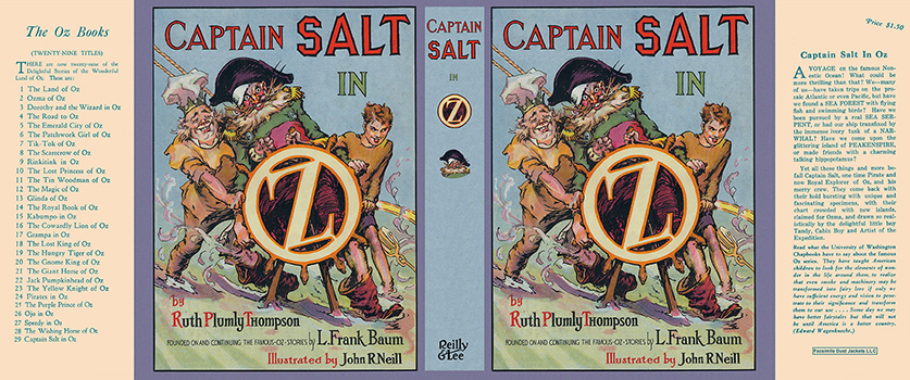 Captain Salt in Oz. Ruth Plumly Thompson, John R. Neill.