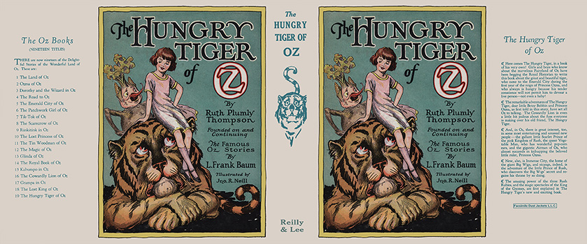 Hungry Tiger of Oz, The. Ruth Plumly Thompson, John R. Neill.
