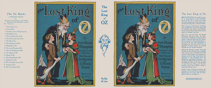 Lost King of Oz, The. Ruth Plumly Thompson, John R. Neill.