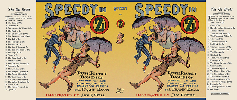 Speedy in Oz. Ruth Plumly Thompson, John R. Neill.