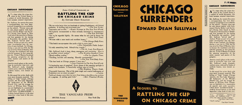 Chicago Surrenders. Edward Dean Sullivan.
