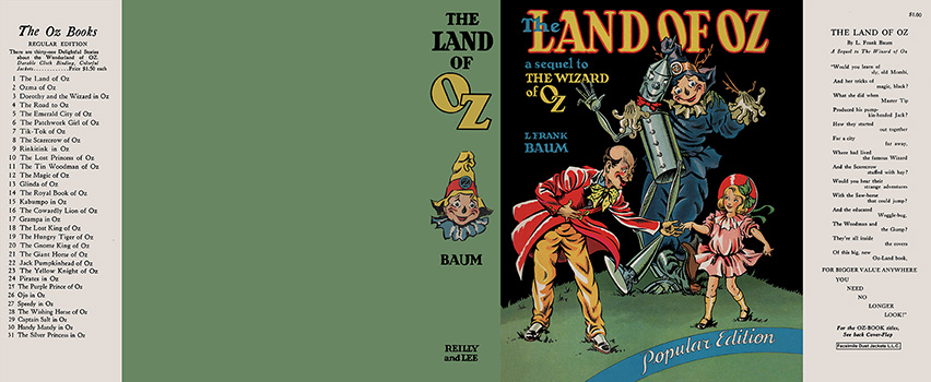 Land of Oz, The. L. Frank Baum.