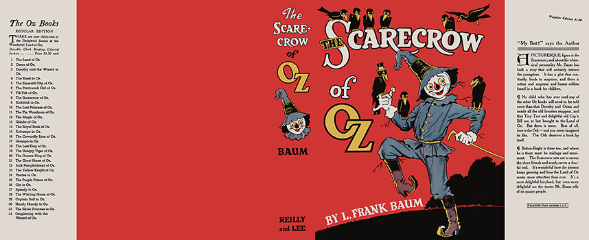 Scarecrow of Oz, The. L. Frank Baum