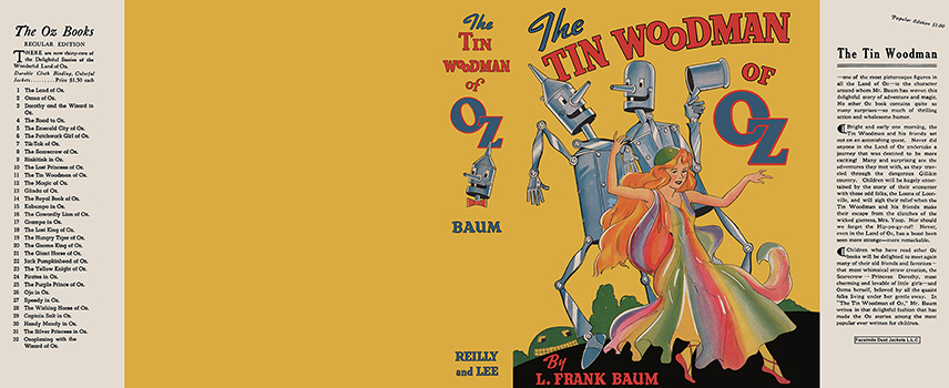 Tin Woodman of Oz, The. L. Frank Baum.