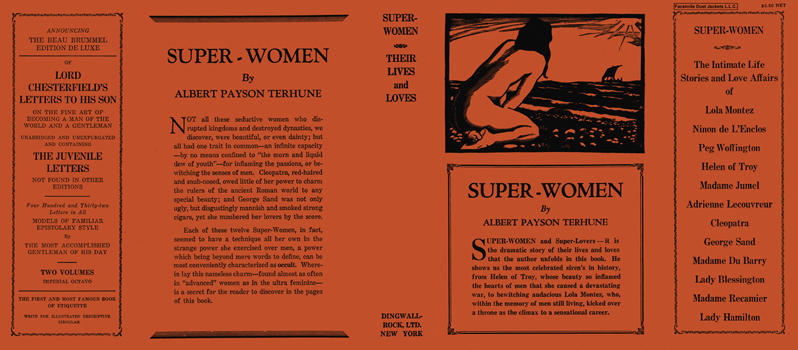 Super-Women, Their Lives and Loves. Albert Payson Terhune