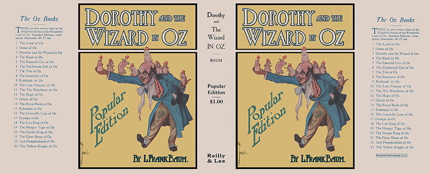 Dorothy and the Wizard in Oz. L. Frank Baum, John R. Neill