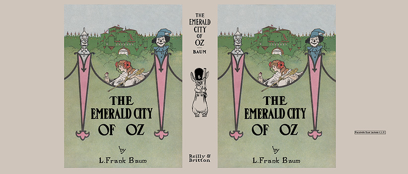 Emerald City of Oz, The. L. Frank Baum