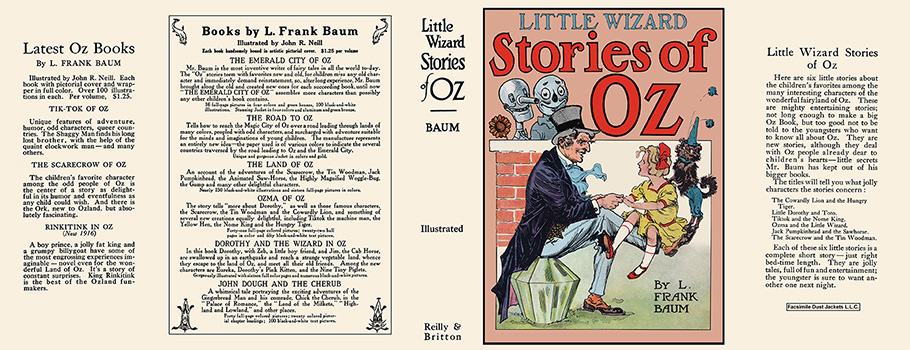Little Wizard Stories of Oz. L. Frank Baum, John R. Neill