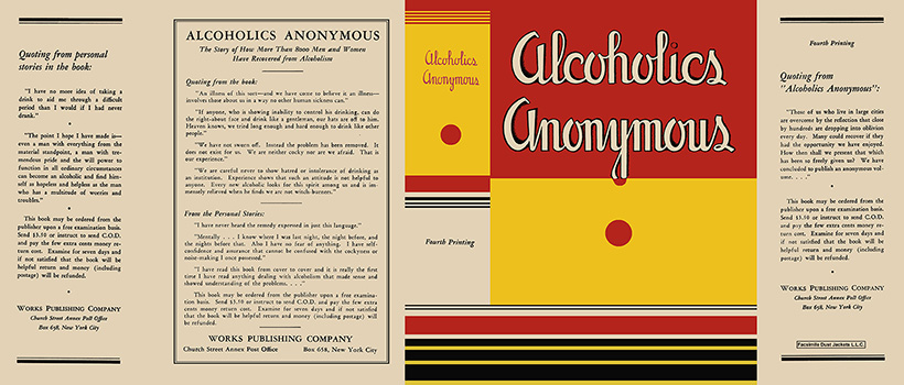 Alcoholics Anonymous. Bill Wilson.