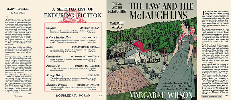 Law and the McLaughlins, The. Margaret Wilson.