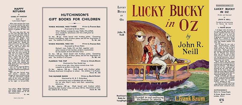 Lucky Bucky in Oz. John R. Neill