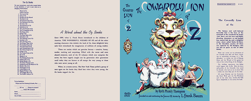 Cowardly Lion of Oz, The. Ruth Plumly Thompson, Dick Martin