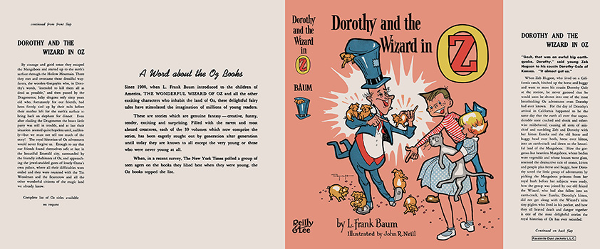 Dorothy and the Wizard in Oz. L. Frank Baum, John R. Neill, Roland Roycraft