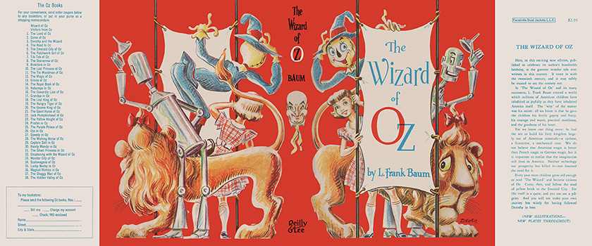 Wizard of Oz, The. L. Frank Baum, Dale Ulrey, Dick Martin