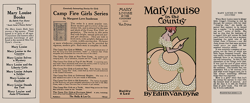 Mary Louise in the Country. Edith Van Dyne, L. Frank Baum.