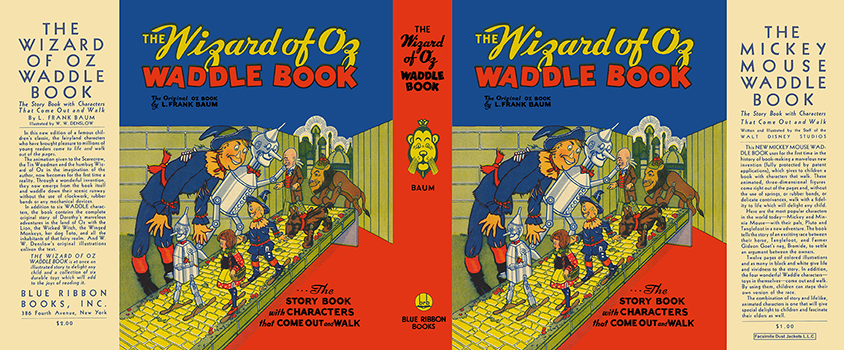 Wizard of Oz Waddle Book, The. L. Frank Baum.