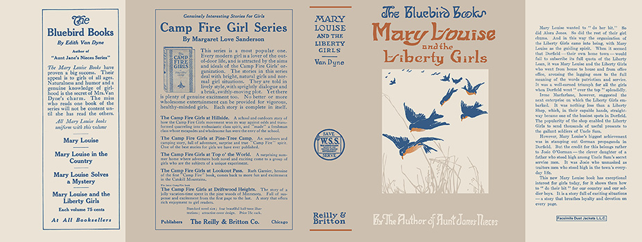 Mary Louise and the Liberty Girls. Edith Van Dyne, L. Frank Baum.