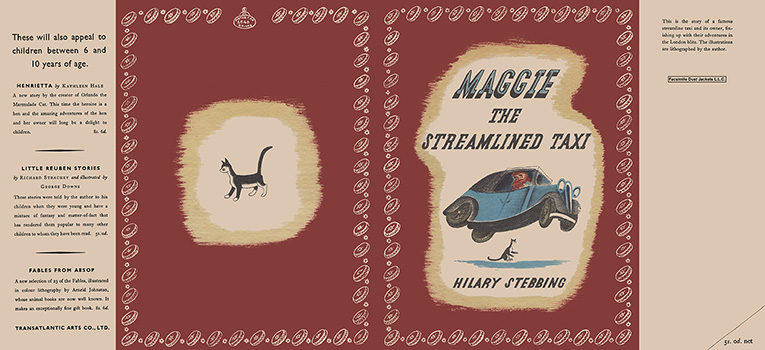 Maggie, The Streamlined Taxi. Hilary Stebbing