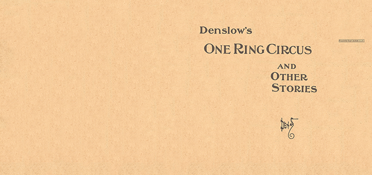 One Ring Circus and Other Stories. W. W. Denslow