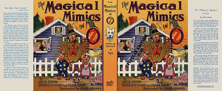 Magical Mimics in Oz, The. Jack Snow, Frank Kramer.