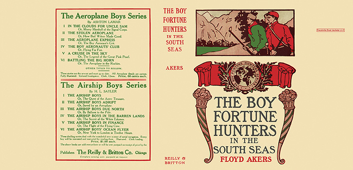 Boy Fortune Hunters in the South Seas, The. Floyd Akers, L. Frank Baum