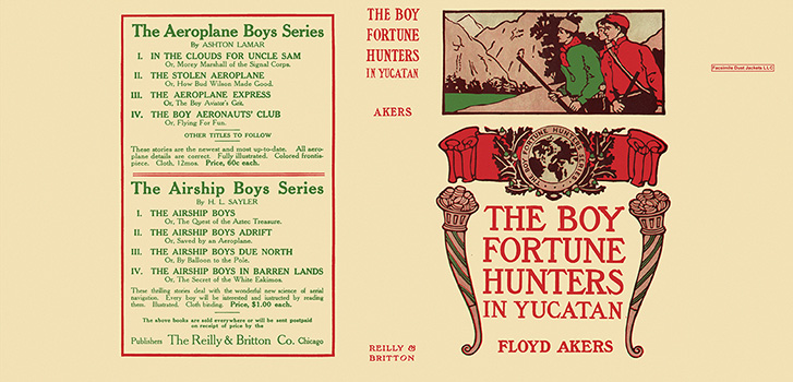 Boy Fortune Hunters in Yucatan, The. Floyd Akers, L. Frank Baum