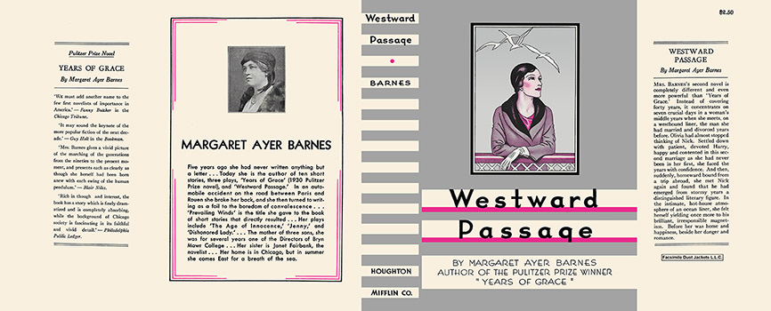 Westward Passage. Margaret Ayer Barnes