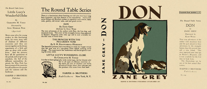 Don, The Story of a Lion Dog. Zane Grey