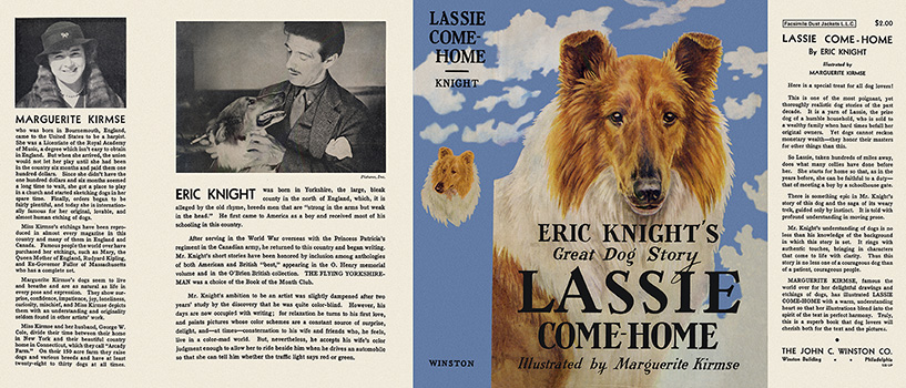 Lassie Come-Home. Eric Knight, Marguerite Kirmse.