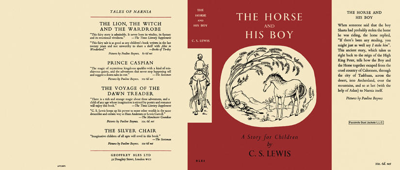 Horse and His Boy, The. C. S. Lewis.