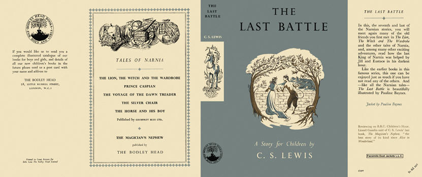 Last Battle, The. C. S. Lewis.