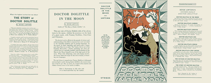 Doctor Dolittle in the Moon. Hugh Lofting.