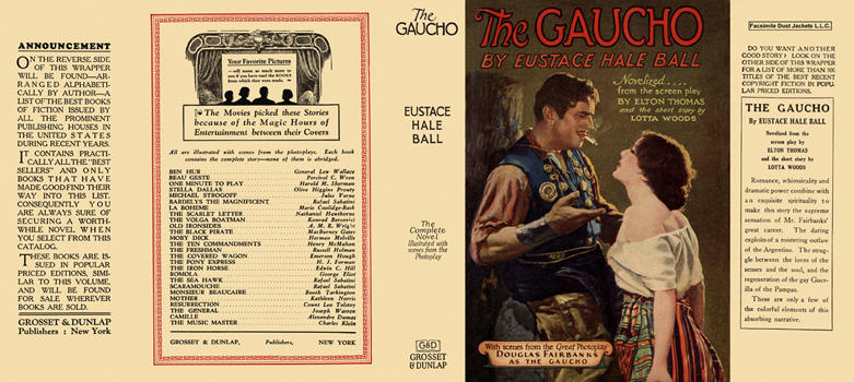 Gaucho, The. Eustace Hale Ball.
