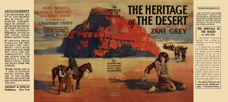 Heritage of the Desert, The. Zane Grey